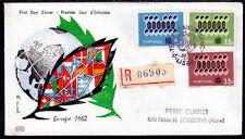 EUROPA CEPT FDC 1962 PORTUGAL 1