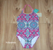 NEW GIRLS MONSOON SWIMSUIT Age 5-6 years, Floral Swim Costume SUMMER HOLIDAYS