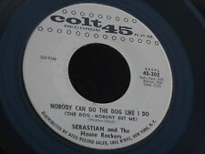 1SR COLT 45 SEBASTIAN & THE HOUSE ROCKERS THE BEST MAN CRIED NOBODY CAN DO THE