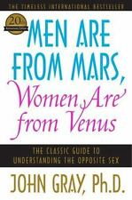 Men Are from Mars and Women Are from Venus paperback by John Gray FREE SHIPPING