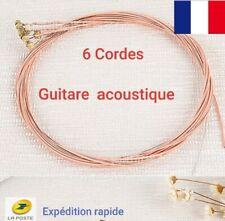 6 cordes guitare acoustique phosphore