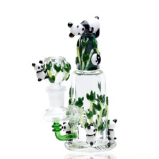 Empire Glassworks Panda-Themed Bong Water Pipe