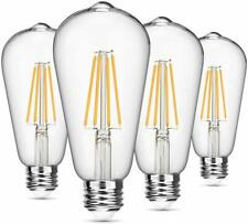 Vintage LED Edison Bulb Dimmable 8W ST64 Led Filament Light 2700K Soft White 820