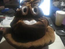 New! With Tags-Emojeez Poop Hat-One Size