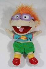 Nickelodeon's Rugrats Chuckie Puppet VINTAGE 1990s Applause plush toy