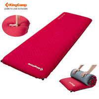 KingCamp 10CM Thick Self-Inflating Mattress Single Camp Pad Mat Outdoor Hiking