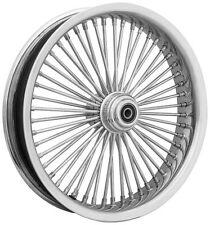 Ride Wright Wheels Inc Exotica Chrome 50 Spoke 18X3.5 Rear Wheel, Color: Chrome