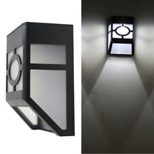Outdoor Solar Power Motion Sensor Garden Floodlight LED Wall Security Light Yard