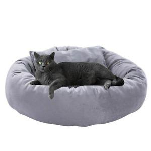 Winter Warm Cat House Round Sleeping Pads Egg Tart Shaped Cat Beds Pet Supplies