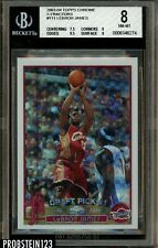 2003-04 Topps Chrome X-Fractor #111 Lebron James RC Rookie 84/220 BGS 8 NM-MT