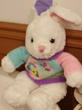Soft Toy bunny in a jumper rabbit in sweater soft toy