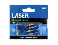 Laser 3694 5pc Drywall Bit Set