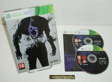 ++ jeu xbox 360 resident evil 6 / edition steelbook ++