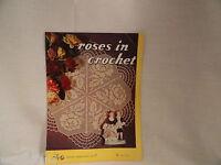 Vintage Lily Crochet Design 71 Craft Pattern Booklet 1953 Doilies Placemats