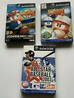 Lot3 Nintendo Game Cube Powerful pro baseball 9,11&bonus GC Japan JP Gamecube