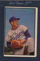 1953 Bowman #129 Russ Meyer Dodgers Fair 53B129-31115-1