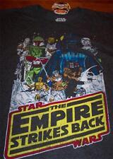 VINTAGE STYLE STAR WARS THE EMPIRE STRIKES BACK T-Shirt XL NEW BOBA FETT 3-CPO