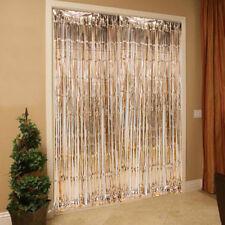 245 cm Rose Gold Foil Fringe Curtain Party Wedding Backdrop Hen Night Decoration