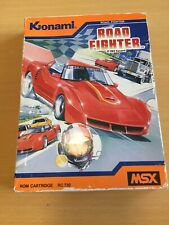 MSX Retro Game Road Fighter Konami 1985 ROM Cartridge RC730 Boxed Manual Tested