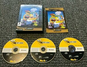 The Simpsons Hit & Run - PC CD-ROM Game - Complete 3 Discs Set **FREE P&P** and