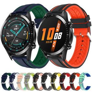 Silicone Wrist Watch Sports Band Strap Huawei Watch GT / GT 2 E 46mm Watch 2 Pro