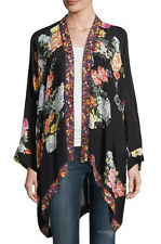 NWT Johnny Was Large ROOMY fits L to XL Extra KIMONO Embroidered Trim fabulous!