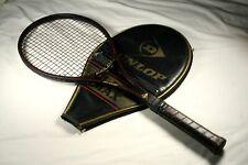 """Dunlop Black Max Tennis Racquet w/Case 4-1/4"""""""