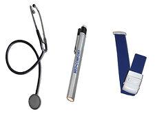 Stetoskop, Pupillenlampe & Venenstauer im Set von RLM