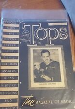 Vintage Abbott's Tops The Magazine Of Magic Bob King and Tiny Issue 1945