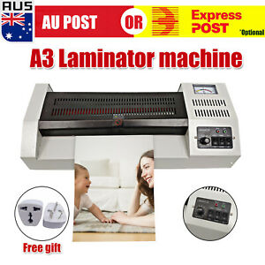 A3 A4 Laminating Laminator Machine Office Commercial Cold Hot Mounted Thermal D