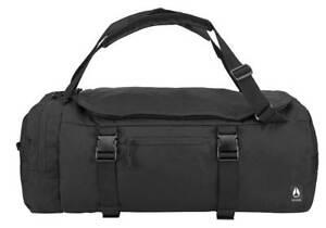 Nixon Escape 60L Duffle Bag - Black - New