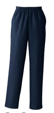 New Donnkenny Womens Navy Blue Size 20W Gabardine Pull On Pants Regular $39 NWTs