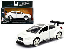 "MR. LITTLE NOBODY'S SUBARU WRX ""FAST & FURIOUS"" F8 MOVIE 1/32 DIECAST JADA 98305"