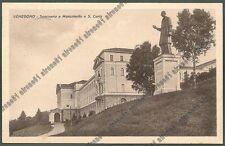 VARESE VENEGONO INFERIORE 19 MONUMENTO a SAN CARLO Cartolina viaggiata 1942