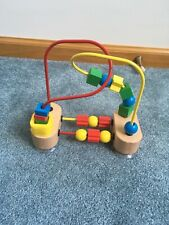 Melissa & Doug My First Bead Maze Wooden Suction Cup Bottom Baby Development Toy