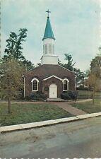 Christ Church Amherstburg Ontario Canada Cemetery Graveyard Postcard