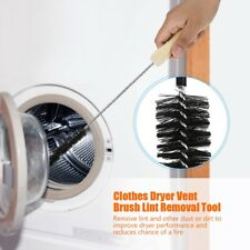 Clothes Dryer  Cleaning Kit Clear Clean Cleaner Remover Vent Lint Brush Black GL