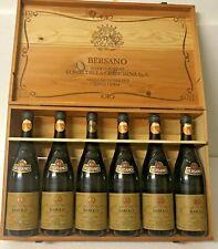 1978 Bersano   Barolo  Riserva In Cassa Di Legno Originale 6 Bottiglie 75cl