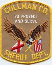 CULLMAN COUNTY ALABAMA AL To Protect And Serve SHERIFF POLICE PATCH