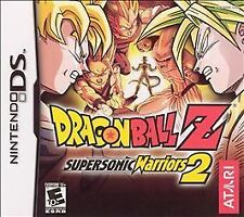 Dragon Ball Z: Supersonic Warriors 2 (Nintendo DS, 2005) new