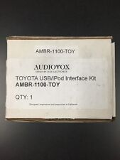 NEW Audiovox AMBR-1100TOY MediaBridge for Toyota