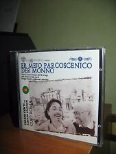 ER MEJO PARCOSCENICO DER MONNO CD COME NUOVO SERGIO CENTI ALBERTO LAURENTI