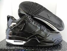 NIKE AIR JORDAN 11LAB4 BLACK-WHITE SZ 11 PATENT! [719864-010]