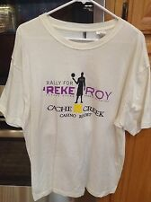 TYREKE EVANS Rally For Reke Roy Sacramento Kings Basketball T-Shirt Mens XL #1