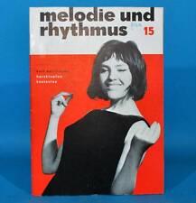 DDR Melodie und Rhythmus 15/1964 Frank Schöbel Helena Majdaniec Halina Kunicka