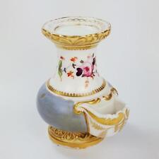 19th siècle porcelaine miniature réchauffement stand