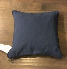 """Ralph Lauren Home 22"""" X 22"""" throw pillow Blue Cotton New"""