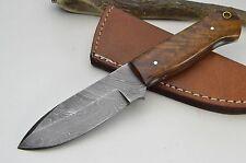 Jagdmesser Damastmesser Taschenmesser Messer Bowie Damast Skinner Damascus #219