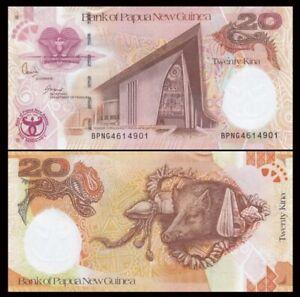 PAPUA NEW GUINEA 20 Kina, 2008, P-36, UNC World Currency