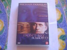 Dvd / Don't Say a Word avec Michael Douglas